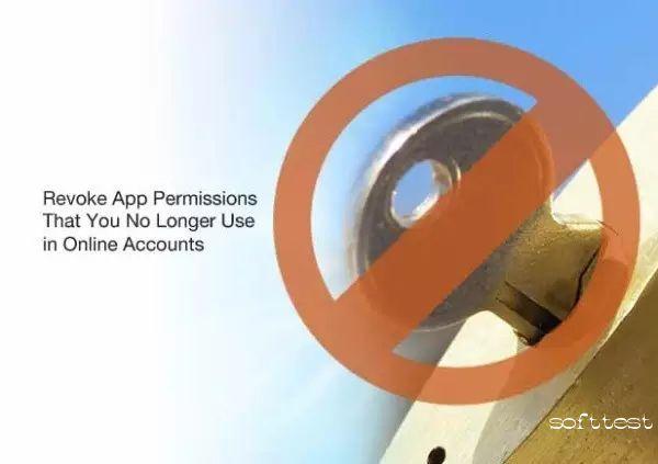 撤回未使用站点和App的权限