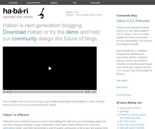 Habari Project