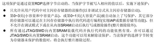 STM32f1系列单片机的RDP功能