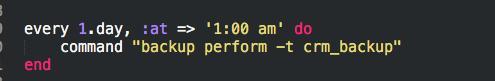 服务器运维技巧分享,用backup为数据库做定时备份