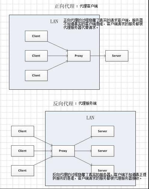 Nginx反向代理服务器、负载均衡和正向代理