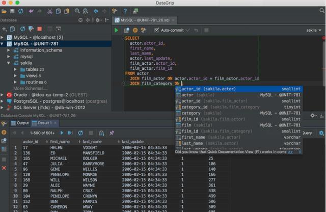 12个适用于DBA的数据库管理和开发的SQL工具